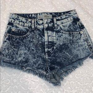 Top shop distressed shorts